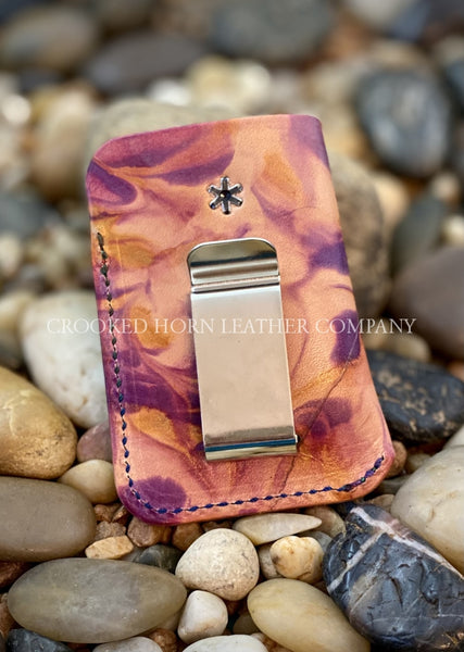 Hippies And Cowboys Front Pocket Wallet