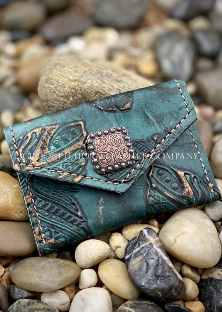 The Albany Leather Mini-Wallet/card Holder Wallet