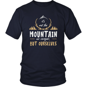 It's Not the Mountain We Conquer Ourselves