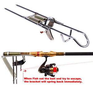 Automatic Fishing Pole Bracket Mount
