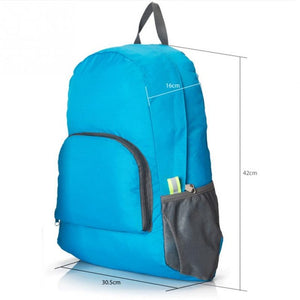 Foldable Water Resistant Travel Backpack