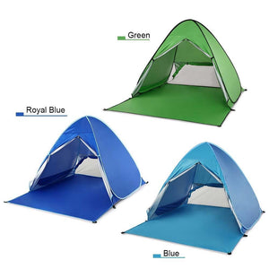 Instant Pop Up UV Protected Camping/Beach Tent
