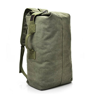 Canvas Bucket Backpack