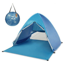 Load image into Gallery viewer, Instant Pop Up UV Protected Camping/Beach Tent
