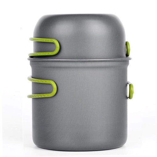 Lightweight Camping Cookware Pot and Pan Set