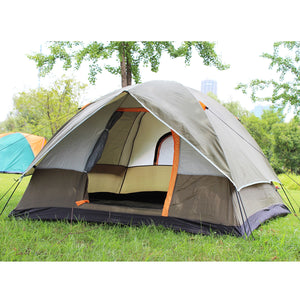 Dual Layer 3 Season Windbreak Camping Tent