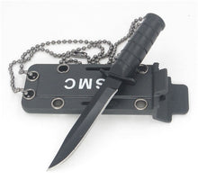 Load image into Gallery viewer, Mini Outdoor EDC Necklace Survival Defense Knife
