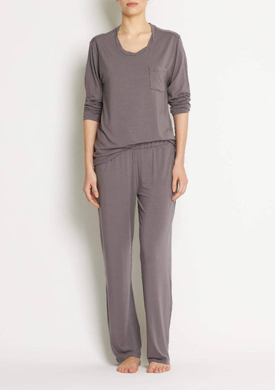 Loungewear pant SKY WIDE LEG PANT- Rabbit