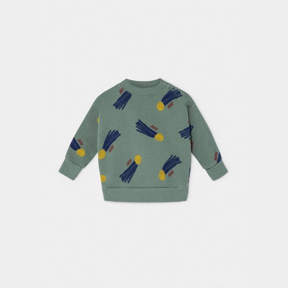 All Over A Star Called Home Sweatshirt- Str. 62-98 - Bobo Choses