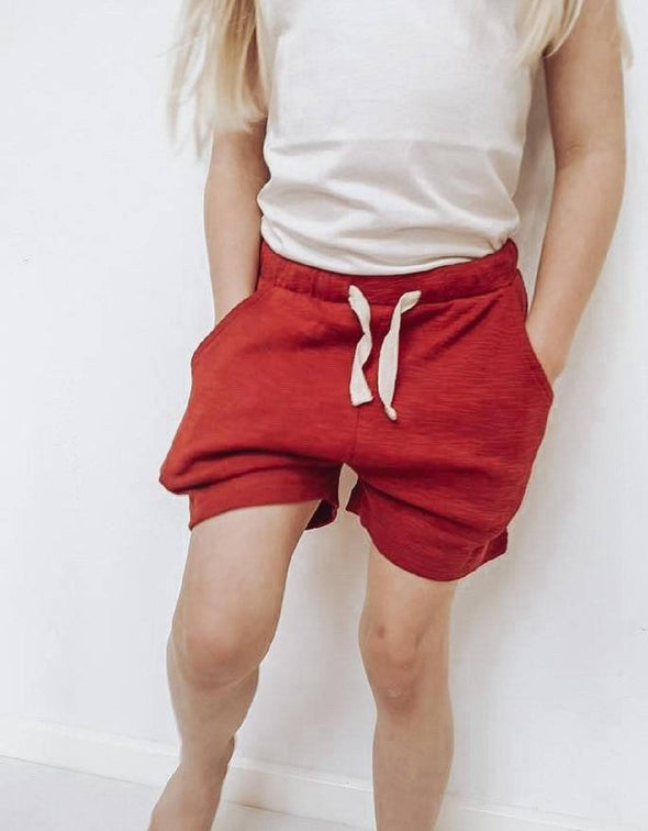 RESEE SHORTS - TERRACOTTA