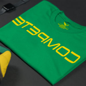 Green/Gold COMPETE Reflection Tee