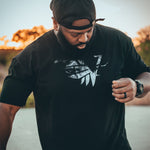 Black Lionhearted Tee