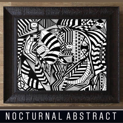 NOCTURNAL ABSTRACT ART GALLERY