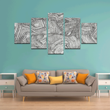 NOCTURNAL ABSTRACT Canvas Wall Art L