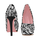 NOCTURNAL PINK SERIES PLATFORM A Women's High Heels (Model 044)