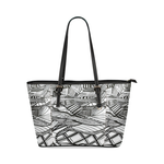 NA222- LEATHER TOTE (Model 1640)
