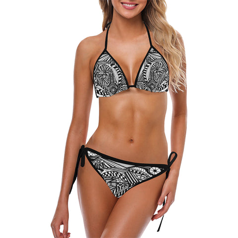 ABSTRACT SWIM Custom Bikini Swimsuit (Model S01)