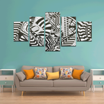 NOCTURNAL ABSTRACT Canvas Wall Art E