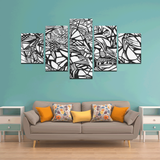 NOCTURNAL ABSTRACT Canvas Wall Art M