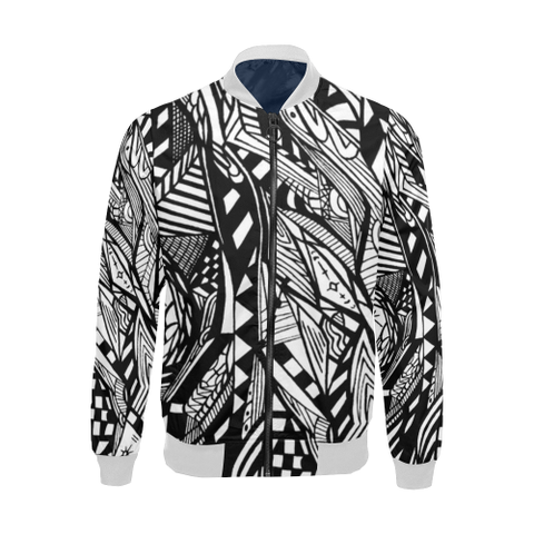 1JM All Over Print Bomber Jacket for Men (Model H19)