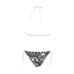 NA222- BUCKLE FRONT BIKINI 13 Buckle Front Halter Bikini Swimsuit (Model S08)