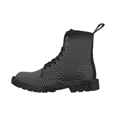 NOCTURNAL BOOTS X Martin Boots for Men (Black) (Model 1203H)