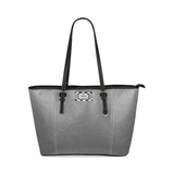 NA222- LEATHER TOTE Leather Tote Bag/Large (Model 1640)