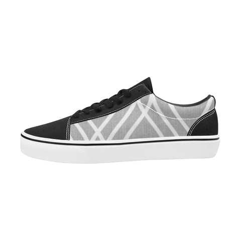 NOCTURNAL SKATE X Men's Low Top Skateboarding Shoes (Model E001-2)
