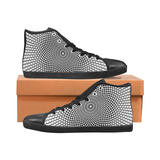 1 - NA222 - M - HIGHTOP Men's High Top Canvas Shoes (Model 002)