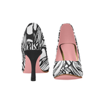 FIGHT IN PINK - WOMEN'S TRADITIONAL 03 INCH HIGH HEEL