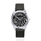 NA222 - UNISEX BLACK BAND WATCH 1