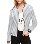 1 JW All Over Print Bomber Jacket for Women (Model H21)