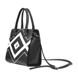 NA222- SIGNATURE HANDBAG - BLACK LOGO Classic Shoulder Handbag (Model 1653)