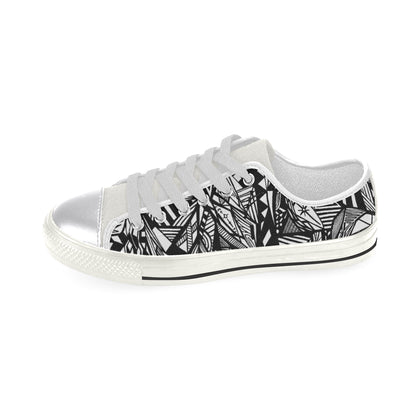 A NOCTURNAL W Women's Classic Canvas Shoes (Model 018)
