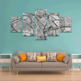 NOCTURNAL ABSTRACT Canvas Wall Art A