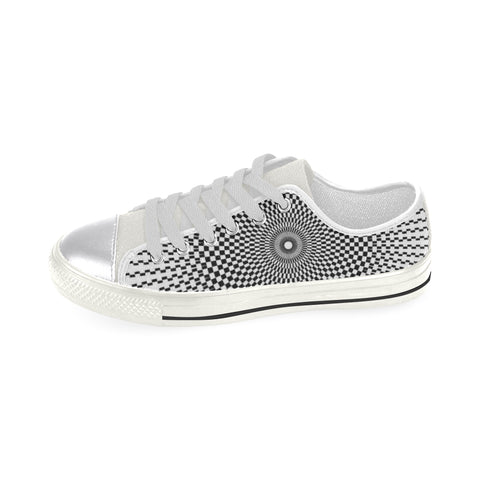 NOCTURNAL W X Women's Classic Canvas Shoes (Model 018)