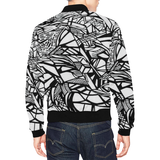 1 JM All Over Print Bomber Jacket for Men (Model H19)