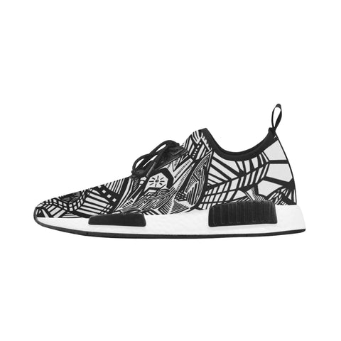 A ABSTRACT W LIGHTS Women's Draco Running Shoes (Model 025)
