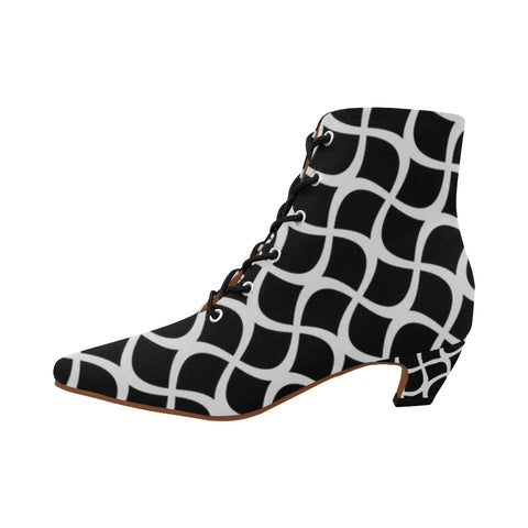 ABSTRACT BOOTIES