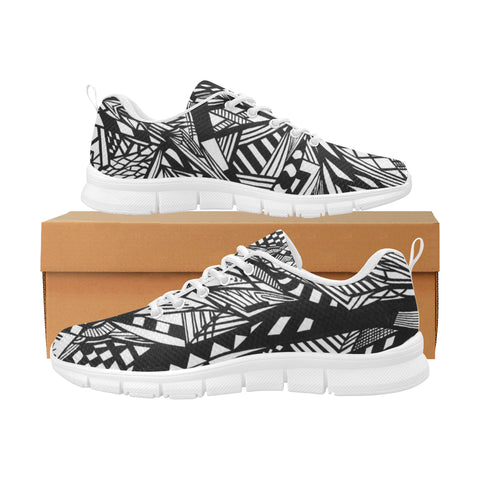 NOCTURNAL W RUN Women's Breathable Running Shoes (Model 055)