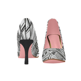 FIGHT IN PINK - WOMEN'S TRADITIONAL 3 INCH HIGH HEEL