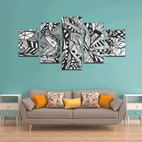 NOCTURNAL ABSTRACT Canvas Wall Art N