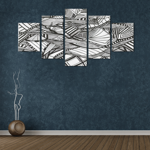 NOCTURNAL ABSTRACT Canvas Wall Art G