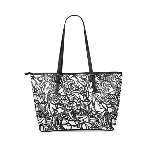 NOC TOTE Leather Tote Bag/Large (Model 1640)