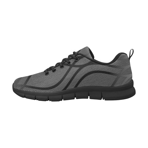 NOCTURNAL M RUNNING Men's Breathable Running Shoes (Model 055)