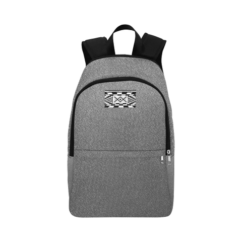 z NA222 - BACKPACK PATTERN LOGO 2 Fabric Backpack for Adult (Model 1659)