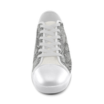 10W Women's Canvas Shoes (Model 016)