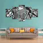 NOCTURNAL ABSTRACT Canvas Wall Art K