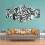 NOCTURNAL ABSTRACT Canvas Wall Art C