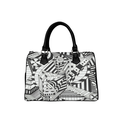 NA222-  Boston Handbag (Model 1621)